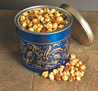 Buttery Caramel Corn with Pecans & Almonds